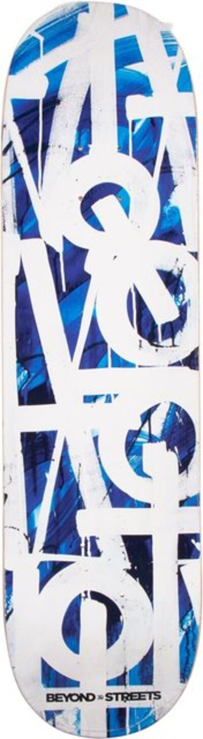 RETNA, 'Untitled (Blue)', 2018