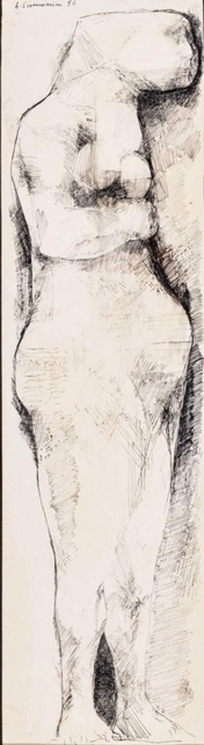 Leonardo Cremonini, 'Pregnant woman', 1950