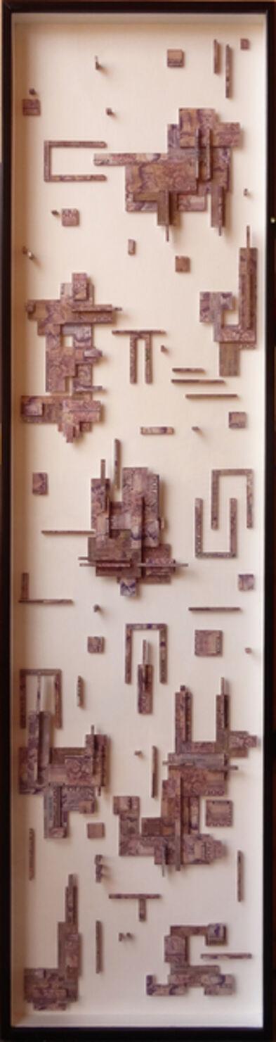 Máximo González, 'Degradation violet (evaporación II)', 2015