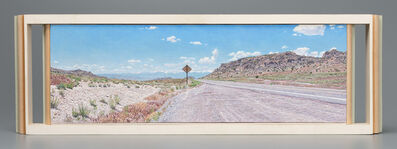 Lloyd Brown, 'A Distant View of Great Basin National Park, Nevada from the Confusion Range, Utah, US Highway 50', 2014