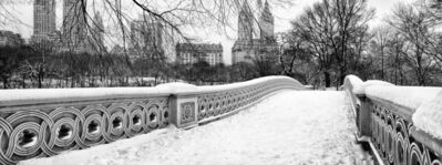 Andrew Prokos, 'Panoramic View of Bow Bridge in Winter, Central Park', ca. 2006