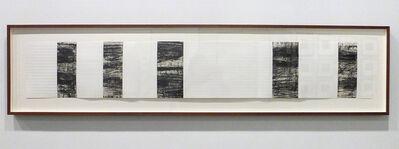"Tad Mike, 'Inscribed Sostenuto:  Feelings from Matthias Pintscher's ""Tenebrae"" 2012,', 2012"