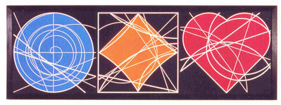 Clifford Singer, 'The Geometry Of The Circle, Square & Heart', 1995