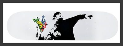 Banksy, 'Flower Thrower Deck', 2018