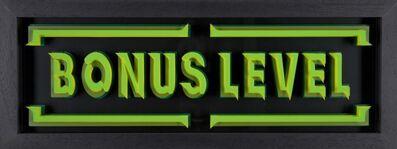 STATIC, 'WORD-PLAY series Bonus Level ( green & yellow)', 2016