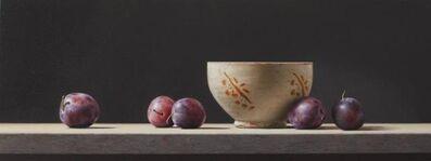 Rafael de la Rica, 'Grapes and pottery', ca. 2020
