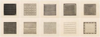 Dan Walsh, 'Folio - A, I-X', 2008