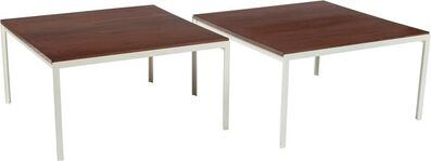 Florence Knoll, 'Pair of T-Angle Side Tables'