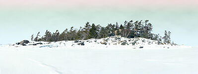 Scott McFarland, 'Concrete Cottage, Study #4 (Green Photo Filter Sky)', 2014