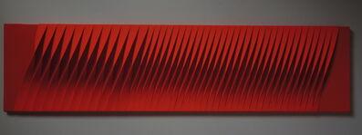 Pino Manos, 'Sincronicità armonica ritmica rossa', 2017