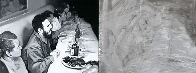 Jose Toirac, 'La última cena, díptico II [The Last Supper, diptych II]', 2000