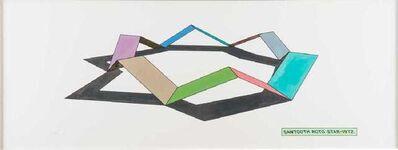 Ronald Davis, 'Sawtooth Roto Star', 1972