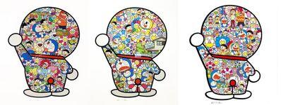Takashi Murakami, 'Doraemon Print (Set of 3), (300 edition)', 2019