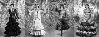 Pilar Albarracin, 'Anatomia Flamenca (Quadriptyque)  ', 2017
