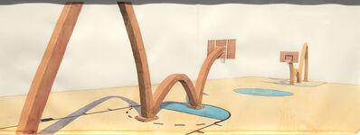 Los Carpinteros, 'Basket (Diptych)', 2008