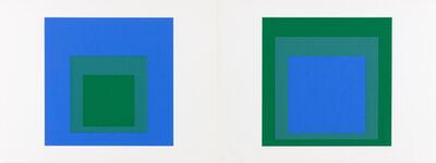 Josef Albers, 'Formulation Articulation I And II (Danilowitz Appendix C)', 1972