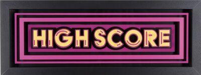 STATIC, 'Highscore- Yellow & Pink', 2016