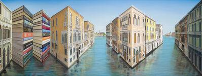 Patrick Hughes, 'Libri Veneziani', 2019