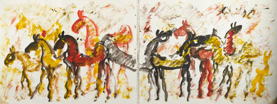 Purvis Young, 'Untitled (Sketchbook with approx 40 individual drawings)'