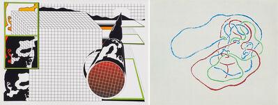 Markus Raetz, 'Two works of art'