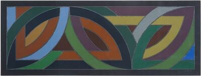 Frank Stella, 'York Factory ll', 1974