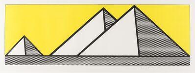 Roy Lichtenstein, 'Pyramids (Corlett 87)', 1969