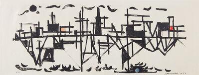 David Smith, 'Fishdocks', 1952