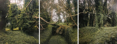 Alex Fradkin, 'Gun Casement #3: Battery Dynamite (Triptych)'
