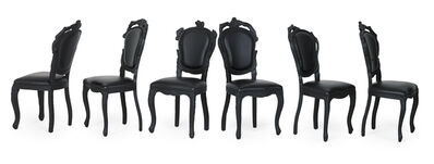 Maarten Baas, 'Six Smoke chairs', 2000s