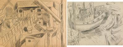 Irene Rice Pereira, 'Two Works of Art: Ship Deck, Venice'