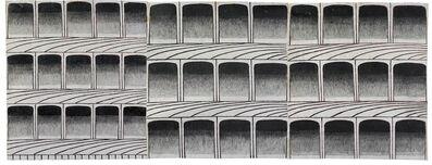 Martín Ramírez, 'Untitled (Arches)', ca. 1960