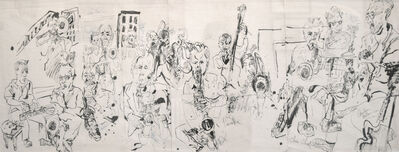 Jonathan Glass, 'Alan Ferber Big Band at Jazz Gallery', 2014