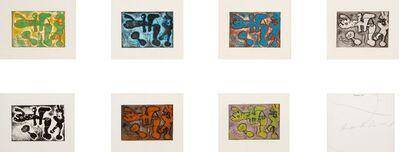 Joan Miró, 'Andre de Boucher, La Lumiere de la Lame', 1962