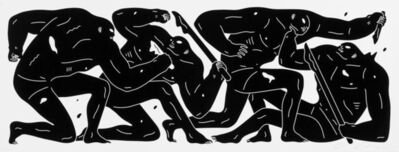 Cleon Peterson, 'Untitled (Black)', 2016