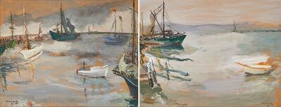 Mané-Katz, 'Untitled (New York Harbor)', 1941