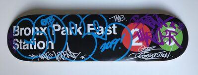 COPE2, 'Bronx Park East Station - Skate Deck Variant', 2019