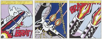 Roy Lichtenstein, 'As I Opened Fire', 2000