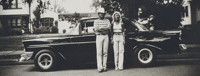 "Thaddeus Holownia, '56 Chevy Couple (From The ""Headlighting"" Series Of 24)', 1974-1977"