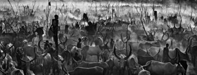 David Yarrow, 'Mankind II (Black and White)', 2015