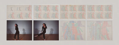 Charles Gaines, 'Motion: Trisha Brown Dance, Set #11', 1980-1981