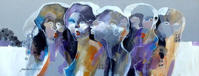 Hani Al Dallah Ali, 'Group of Ladies', 2020