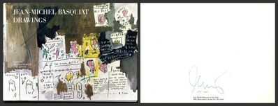 Jean-Michel Basquiat, 'Jean-Michel Basquiat Drawing (Limited Edition, Hand Signed & Numbered)', 1985