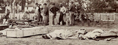 Alexander Gardner, 'Burial Party, Army of the Potomac, 1864', 1864