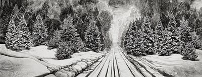 Hans Op de Beeck, 'Winter Road', 2020