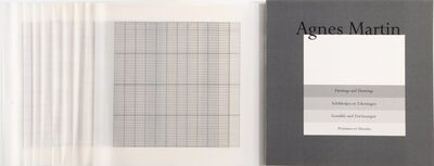 Agnes Martin, 'Paintings and Drawings, complete set of 10', 1974-1990