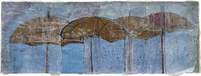 Hurvin Anderson, 'Blue and gold umbrella', 1994