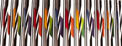 Juvenal Ravelo, 'Fragmentacion de la luz y el color ', 2018