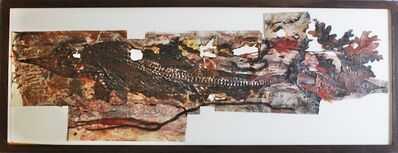 Judy Pfaff, 'Unique mixed media collage in artist made frame with Andre Emmerich Gallery & Bellas Artes gallery labels in original crate', 1994