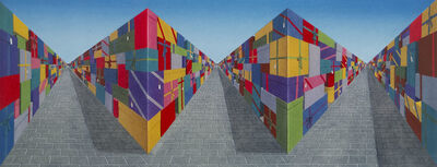 Patrick Hughes, 'Gifts', 2007