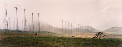 Laura McPhee, 'Kahua Ranch Wind Farm, Hawai'i, 1990, from the series No Ordinary Land', 1990